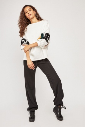 Casual Straight Leg Jogger Pants