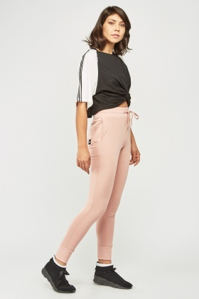 Dusty Prink Jogger Pants