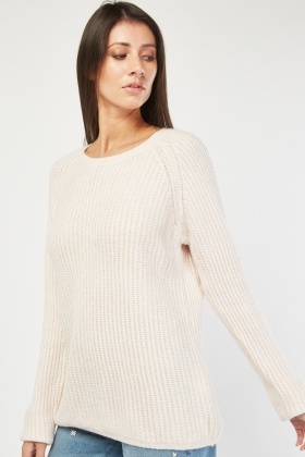 Raglan Sleeve Knit Jumper £5.00