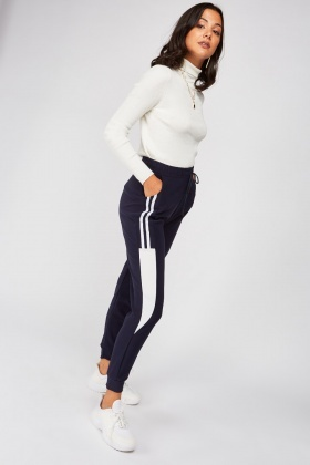 Stripe Side Track Pants £5.00