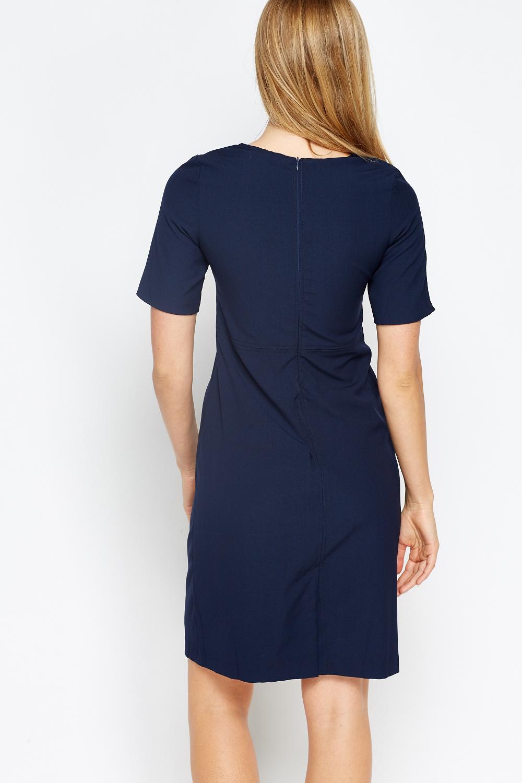 Short Sleeves Pencil Dress - Just £5