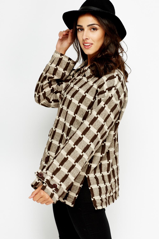 Basket Weave Coat Just 163 5
