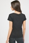 Sequinned Applique Front T-Shirt