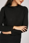 Long Sleeve Textured Jumper