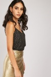 Metallic Dotted Cami Top