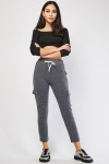 Speckled Flap Pocket Side Joggers