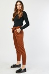 Pin Striped Tie Up Waist Trousers