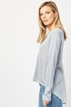 Chiffon Back Shimmery Top