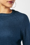 Herringbone Pattern Knit Jumper