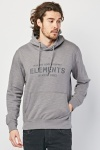 Graphic Front Speckled Hoodie