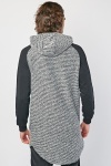 Raglan Sleeve Hooded Knit Jumper
