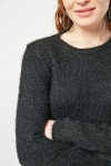 Long Sleeve Eyelash Jumper