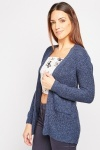Twin Pocket Front Chunky Cardigan