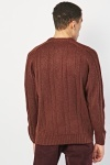 Round Neck Ribbed Knit Jumper