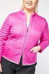 Quilted Zip Up Jacket