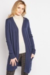 Open Front Long Knit Cardigan