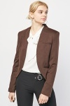 Slim Fit Cropped Blazer