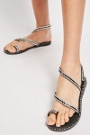 Encrusted Strappy Sandals