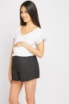 Maternity Wear Black Shorts