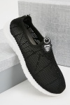Mens Perforated Trainers