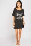 Novelty Printed Cotton Night Dress