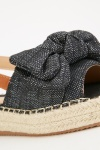 Bow Front Braided Trim Espadrilles
