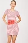 Pack Of 2 Cotton Striped Dresses