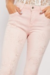 Slim Fit Embroidered Trousers