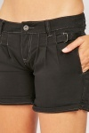 D-Ring Buckle Strap Shorts