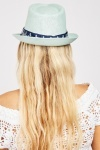 Anchor Trim Summer Hat