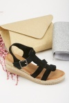 Gladiator Wedge Heel Sandals