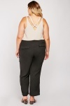Casual Drawstring Waist Trousers