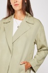Lapel Front Mac Coat