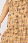 Paperbag Waist Tweed Skirt