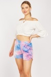 Tie Dyed Casual Shorts
