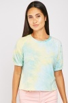 Tie-Dyed Raglan Sleeve Top