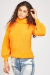 Roll Neck Chunky Knit Jumper