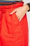 Oversize Pocket Front Midi Skirt