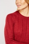 Panelled Knit Jumper