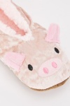 Animal Face Soft Slippers