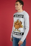 Snowflake Turkey Christmas Jumper