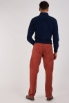 Straight Cut Cotton Chino Trousers