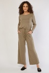 Light Olive Jumpsuit