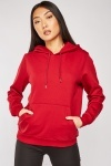 Pouch Pocket Front Cotton Hoodie