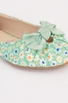 Daisy Flower Print Ballet Pumps