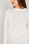 Ribbed Trim Knit Jumper