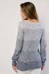 Gradient Effect Knitted Jumper