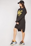 Logo Front Jumper Dress