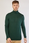 Roll Neck Soft Knit Mens Top