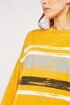 Brush Stroke Print Sweatshirt